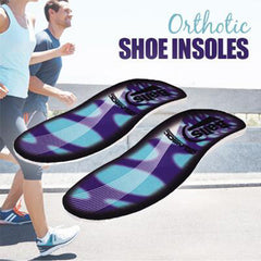 Gel Orthotic Shoe Insoles with Arch Support