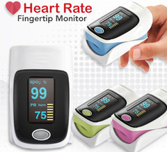 Fingertip Heart Rate Monitor