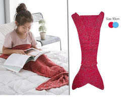 140*70 Elder Kids Mermaid Tail Blanket