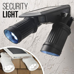 Multi-Direction Motion Sensor Solar Security Lights