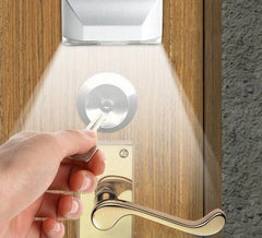 Door Keyhole Light