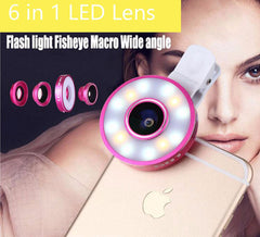 6 In 1 Mobile Phone Camera Lens