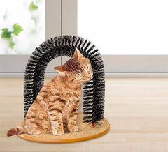 Cat Catnip Arch Massager