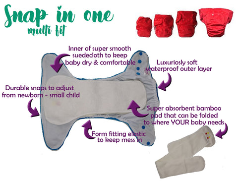 itty bitty bums snap in one multi fit explained