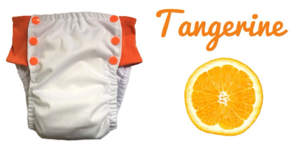 TANGERINE flexa pull up nappy