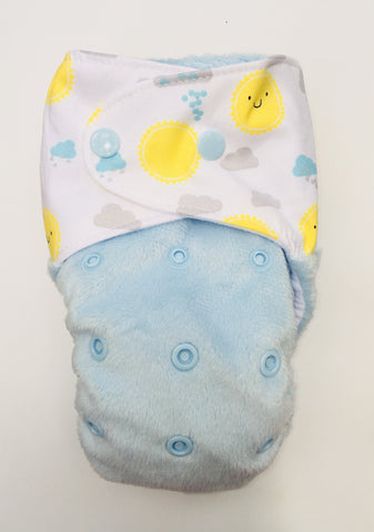 MARINE BLUE flexa pull up nappy