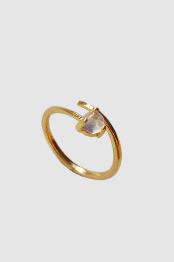 Moonstone 14K Gold Filled Ring