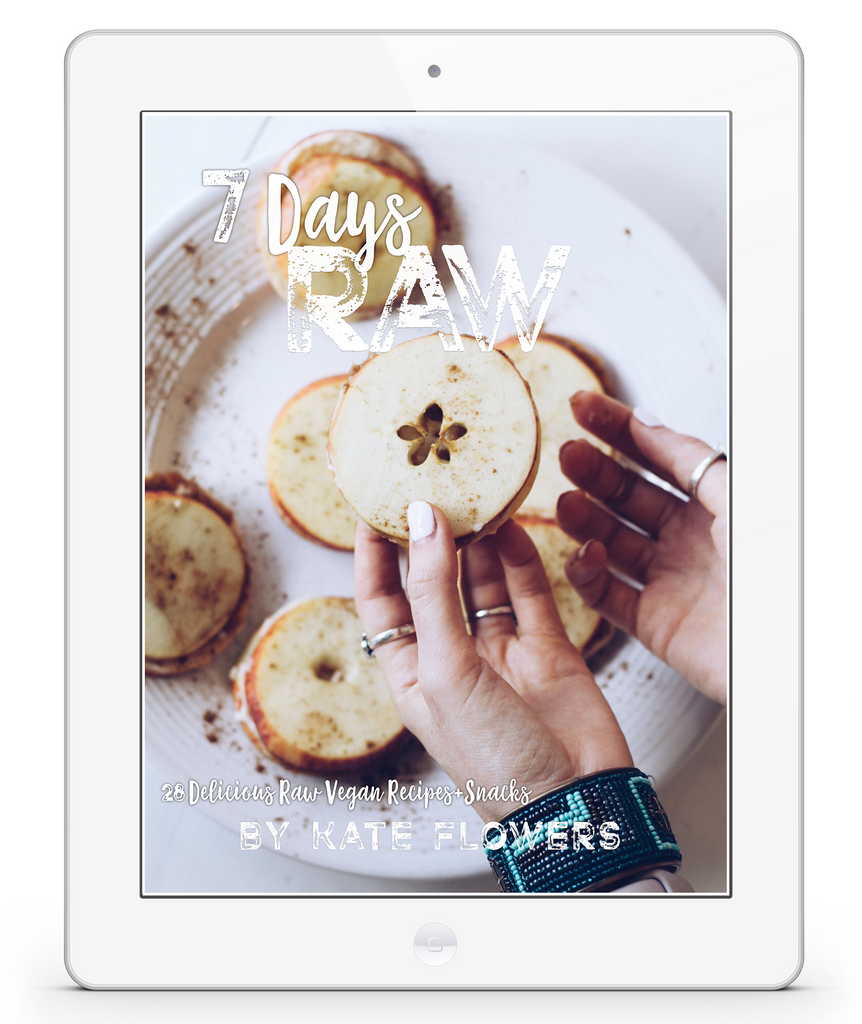 7 Days Raw ~ Recipe E-Book