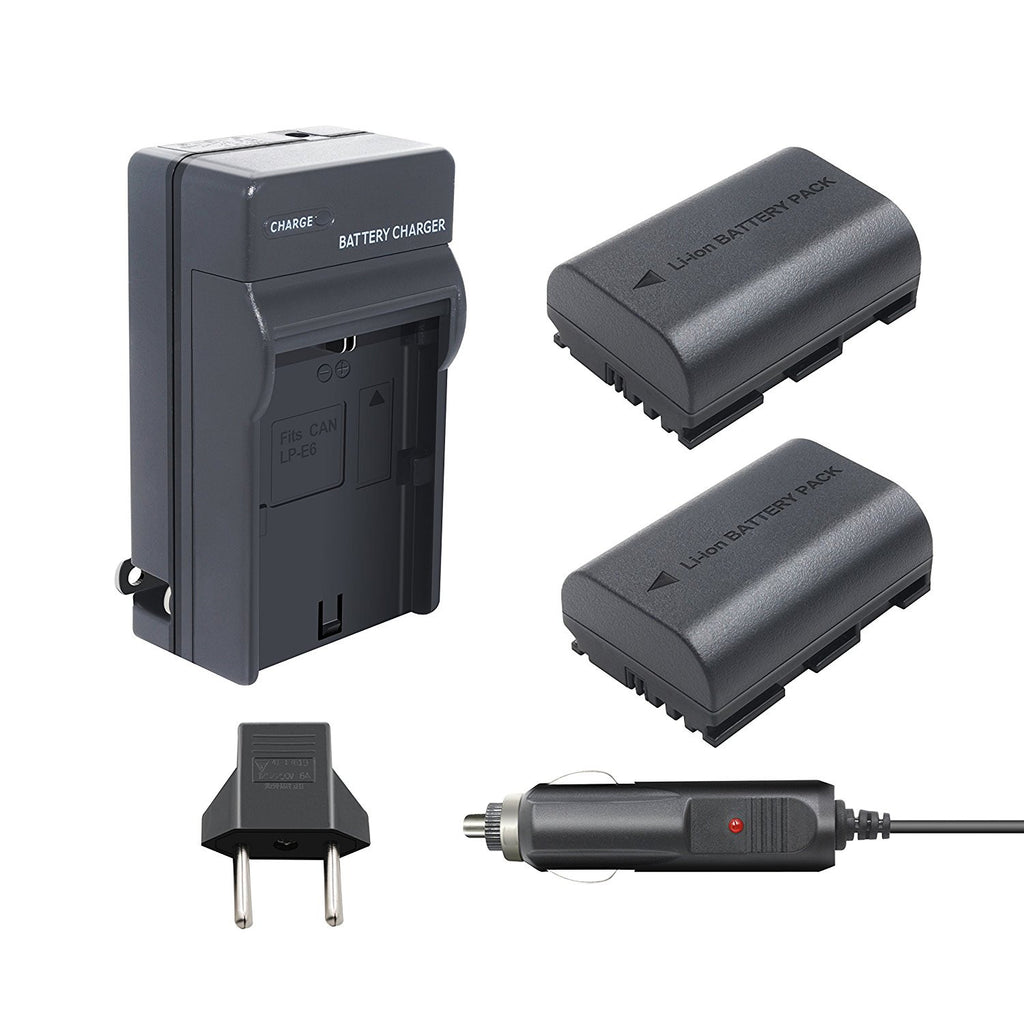 Canon 80D Battery Charging Kit