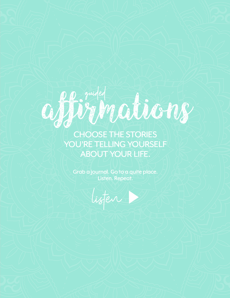 June 2018 Guided Affirmations