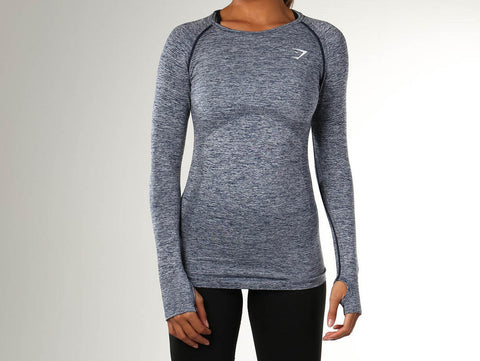 Gymshark Seamless Long-sleeve Top