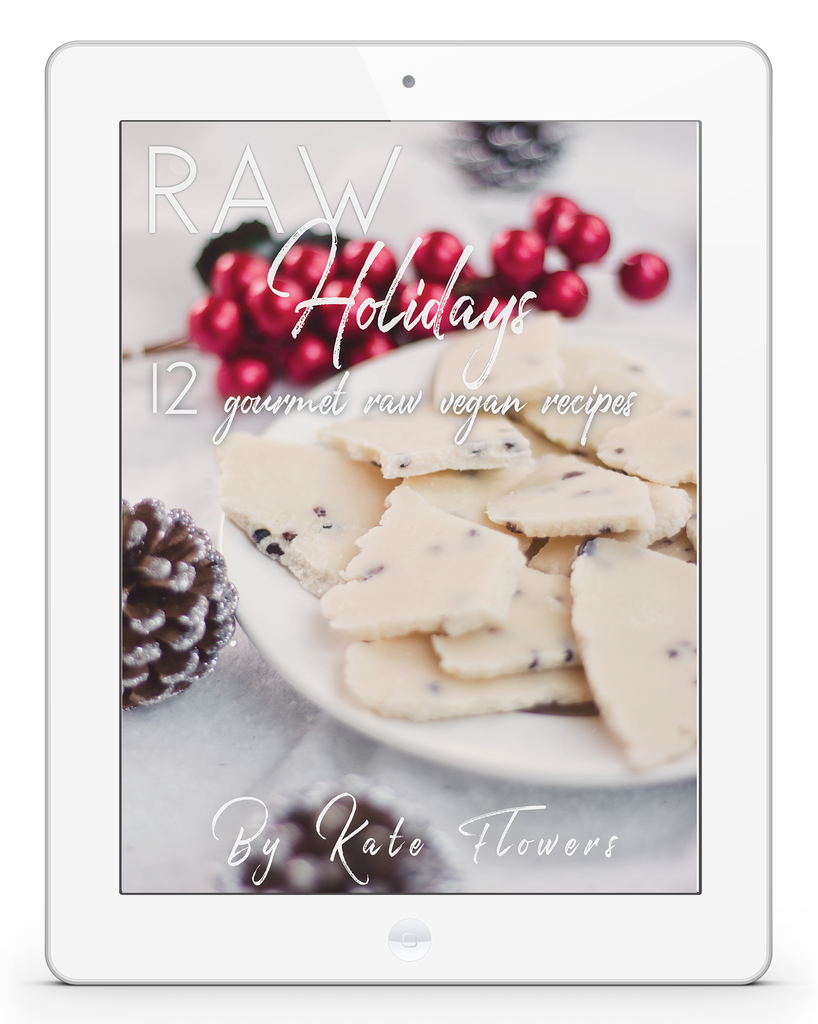 Raw Holidays ~ Recipe E-Book