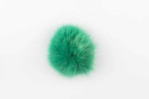 Green Fox Poof - Vice Versa Hats