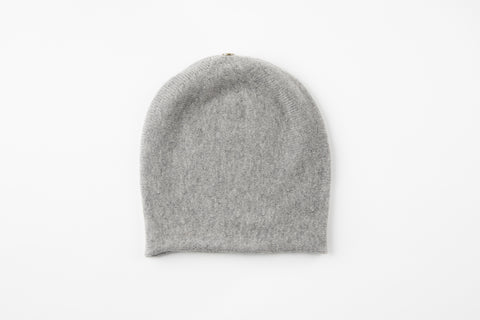 Heather Gray Cashmere Floppy Hat - Vice Versa Hats