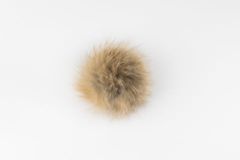 Light Red Fox Poof - Vice Versa Hats