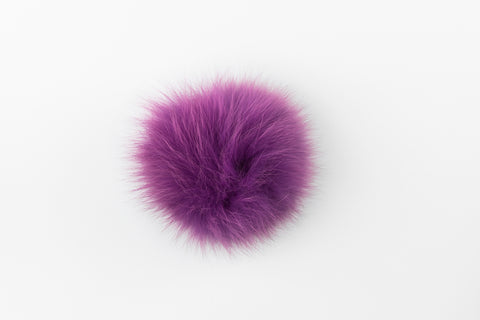 Purple Fox Poof - Vice Versa Hats