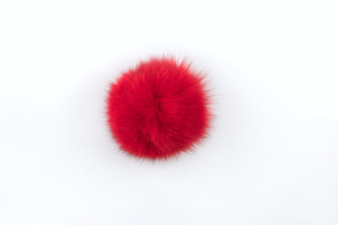 Christmas Red Fox Poof - Vice Versa Hats