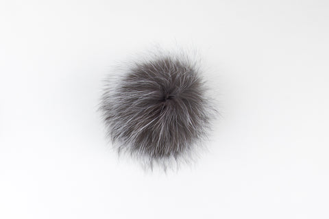 Silver Fox Poof - Vice Versa Hats