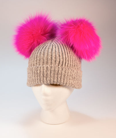 Double Poof Hat