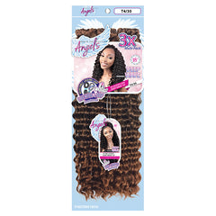 Motown Tress Angels 3X Locking Loop Crochet Braid (Deep Wave)