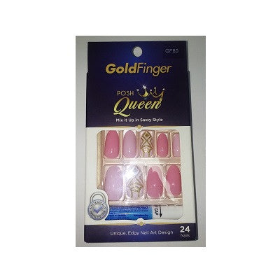 Gold Finger Posh Queen