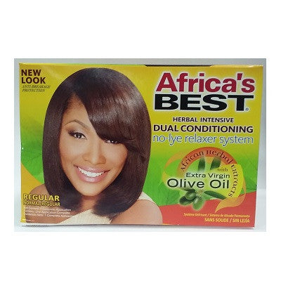 Africa's Best Herbal Intensive Dual Conditioning No-Lye Relaxer System