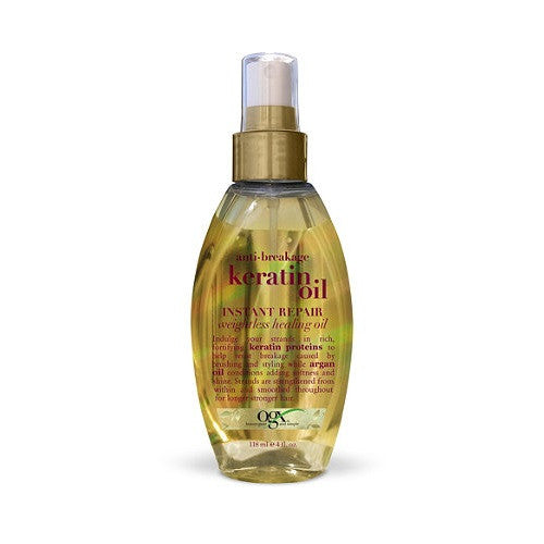 Anti-Breakage Keratin Oil Instant Repair Weightless Healing Oil 4 fl oz