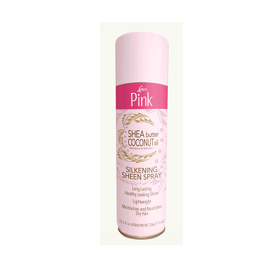 Luster's Pink Shea Butter Coconut Oil Silkening Sheen Spray 15.5 fl oz