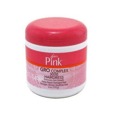 Luster's Pink Gro Complex 3000 Hairdress 6 oz