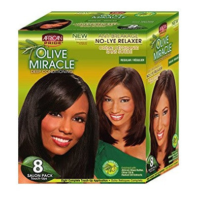 African Pride Olive Miracle Deep Conditioning Relaxer