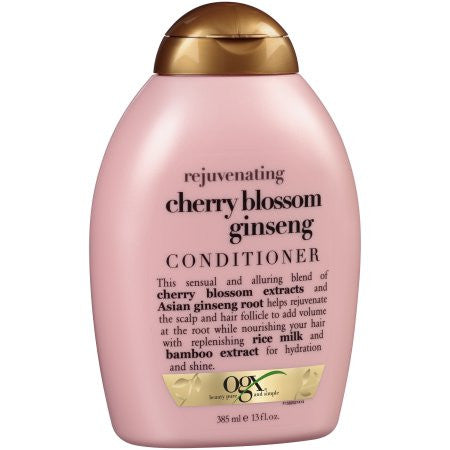 OGX Rejuvenating + Cherry Blossom Ginseng Shampoo & Conditioner