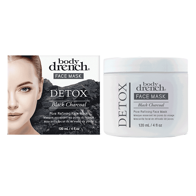 Body Drench Face Mask Detox Black Charcoal