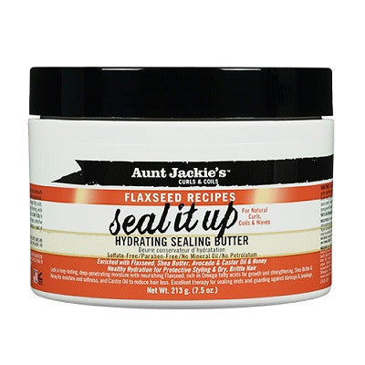Aunt Jackie's Curls & Coils Seal It Up Hydrating Sealing Butter 7.5 oz