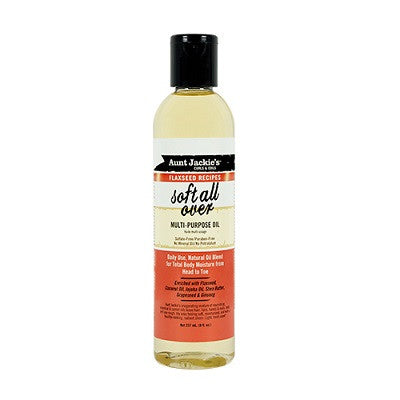 Aunt Jackie's Curls and Coils Soft All Over Multi-Purpose Oil