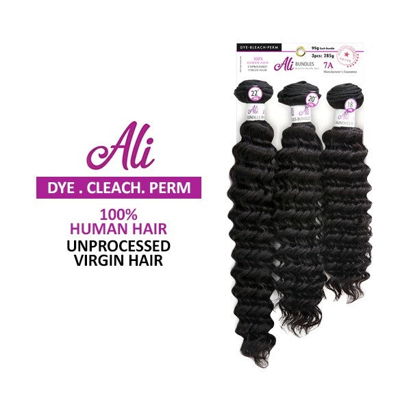Ali Bundle Unprocessed Virgin Hair (Pineapple Wave)