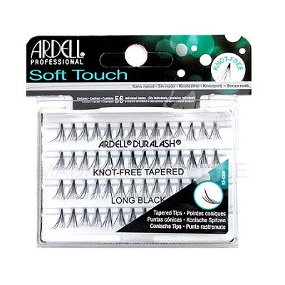 Ardell Soft Touch Knot-Free Tapered Individuals Long Black Eyelashes