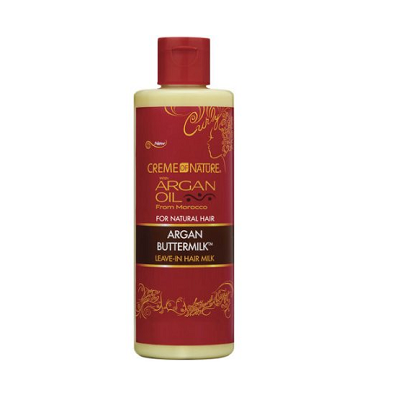 Creme of Nature Argan Buttermilk Leave-In Hair Milk