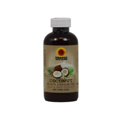 Tropic Isle Living Black Castor Oil - Coconut