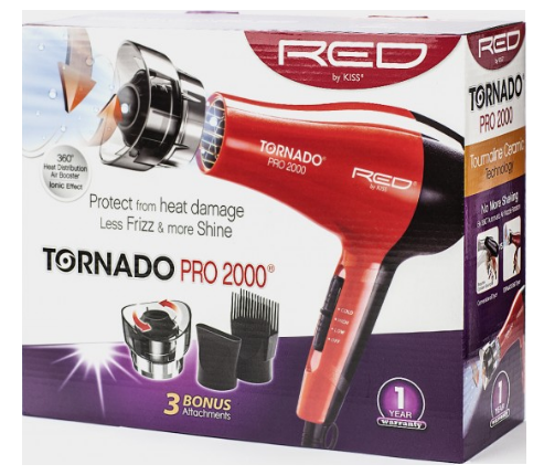 Red by Kiss Tornado Pro 2000