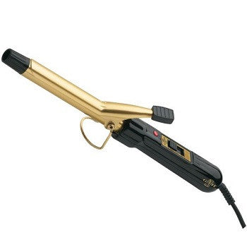 Gold 'N Hot Professional 24K Gold Spring Curling Irons