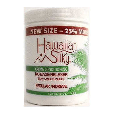Hawaiian Silky Creme Conditioning No Base Relaxer - 20 oz