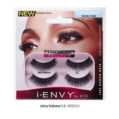 Kiss i-Envy Juicy Volume Double Pack Lashes