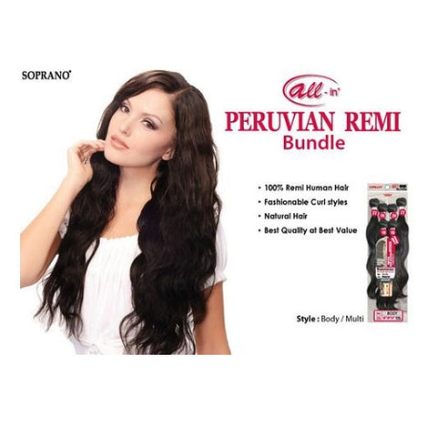 Soprano Virgin Peruvian Remi Bundle (Body)