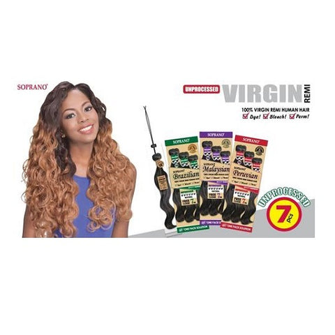 Soprano Brazilian 100% Virgin Remi Hair
