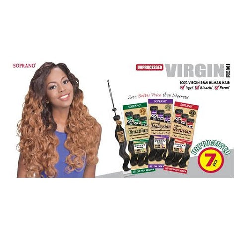 Soprano Malaysian 100% Virgin Remi Hair