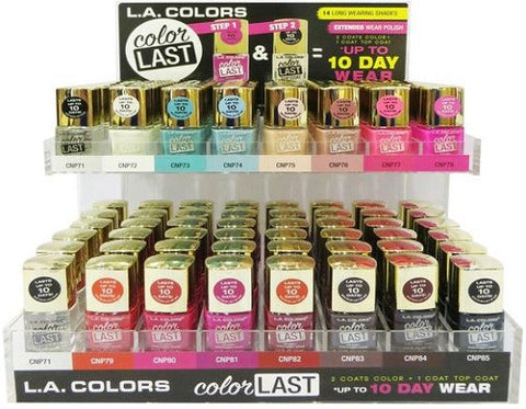 L.A. Colors Color Last Nail Polish 0.5 fl oz