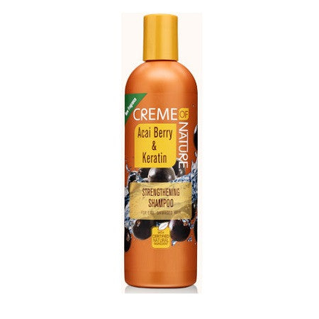 Creme of Nature Acai Berry & Keratin Strengthening Shampoo