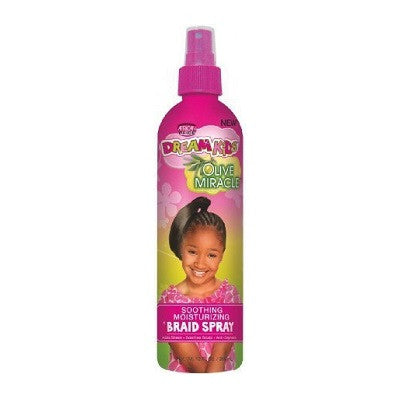 African Pride Dream Kids Olive Miracle Braid Spray