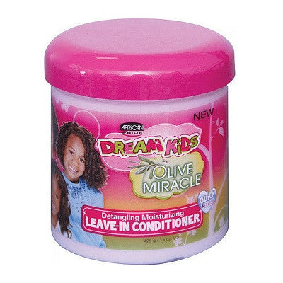 African Pride Dream Kids Olive Miracle Leave-In Conditioner 15 oz