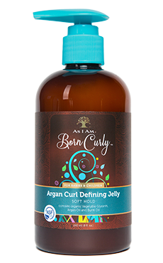 As I Am Argan Curl Defining Jelly 8 fl oz